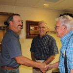Gregg Noel with Myron and Don Shorman.